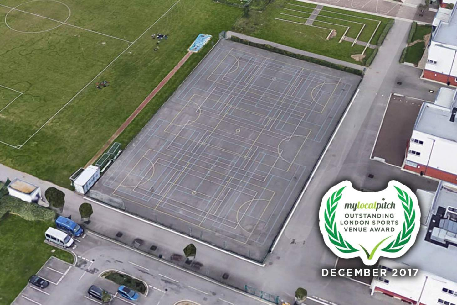 Castle Green Leisure Centre 5 a side | Concrete football pitch