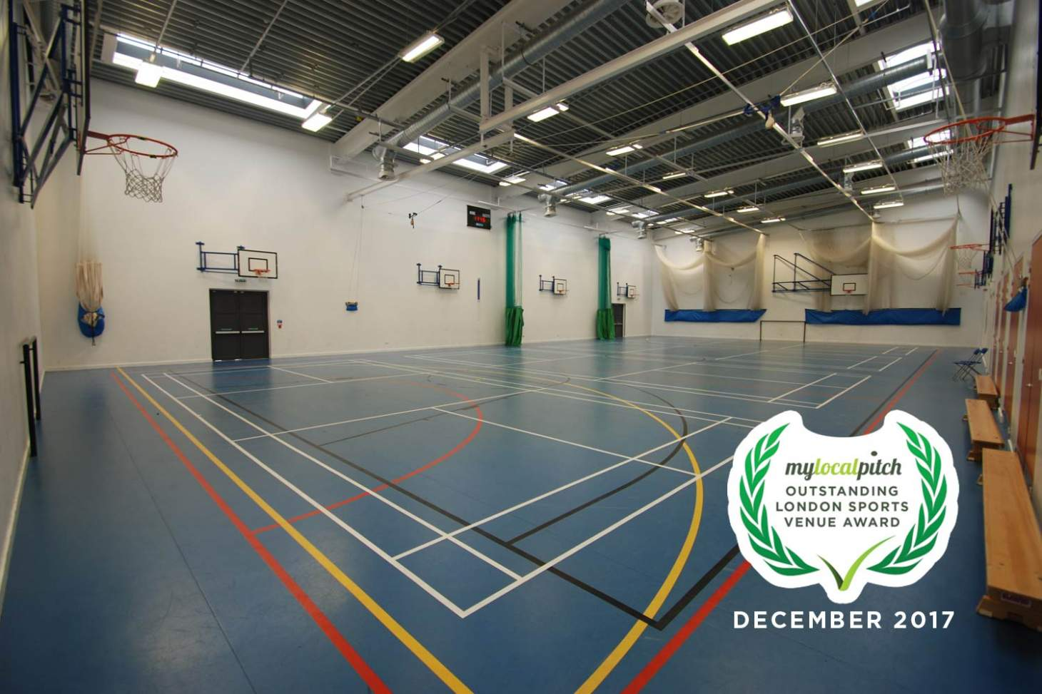 Castle Green Leisure Centre Nets | Sports hall cricket facilities