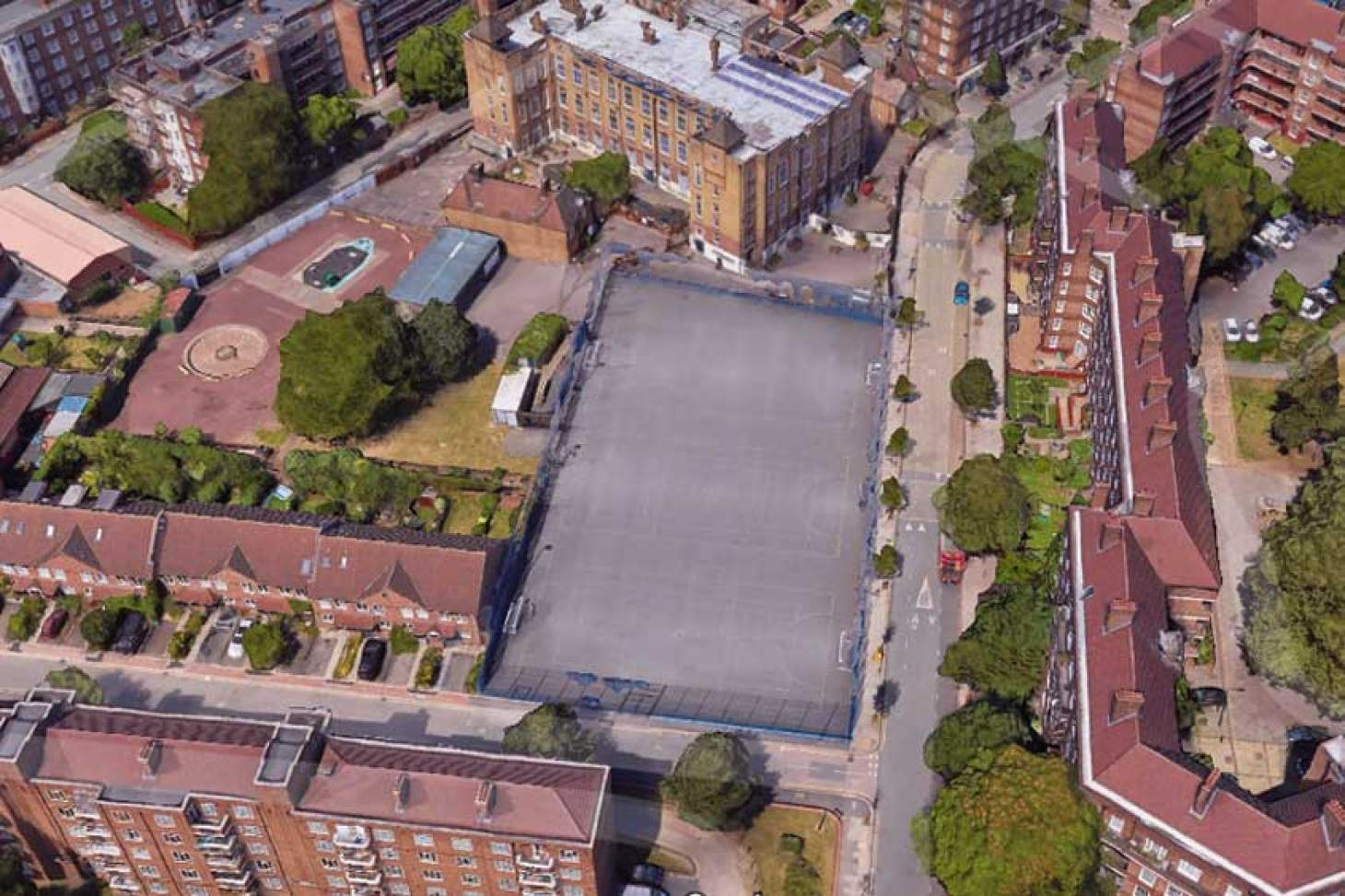Vauxhall Primary School 5 a side | Concrete football pitch