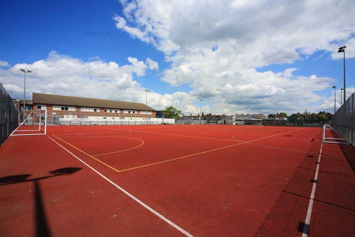 Nightingale Academy Outdoor | Hard (macadam) netball court