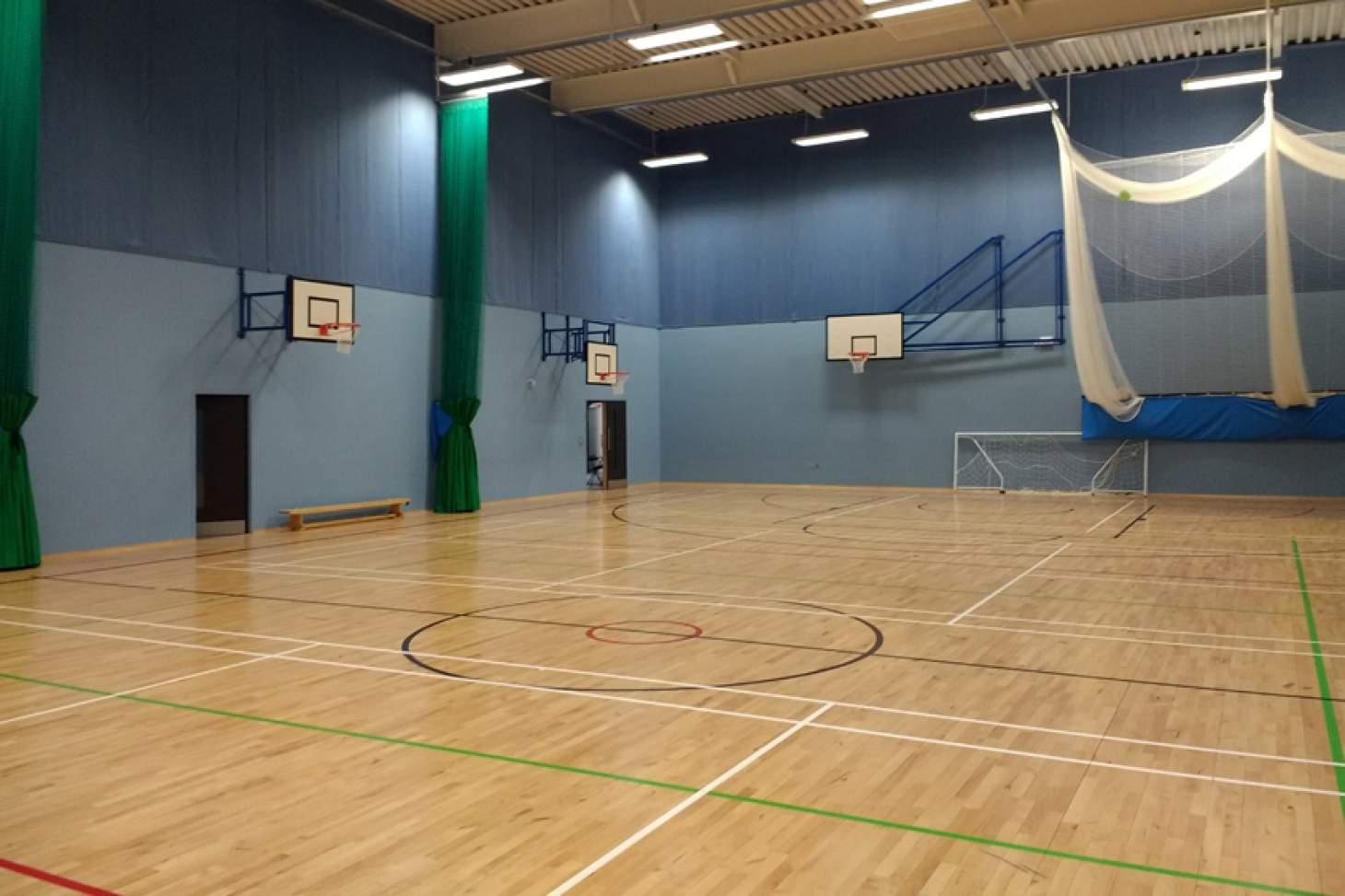 Oasis Academy Arena Indoor basketball court