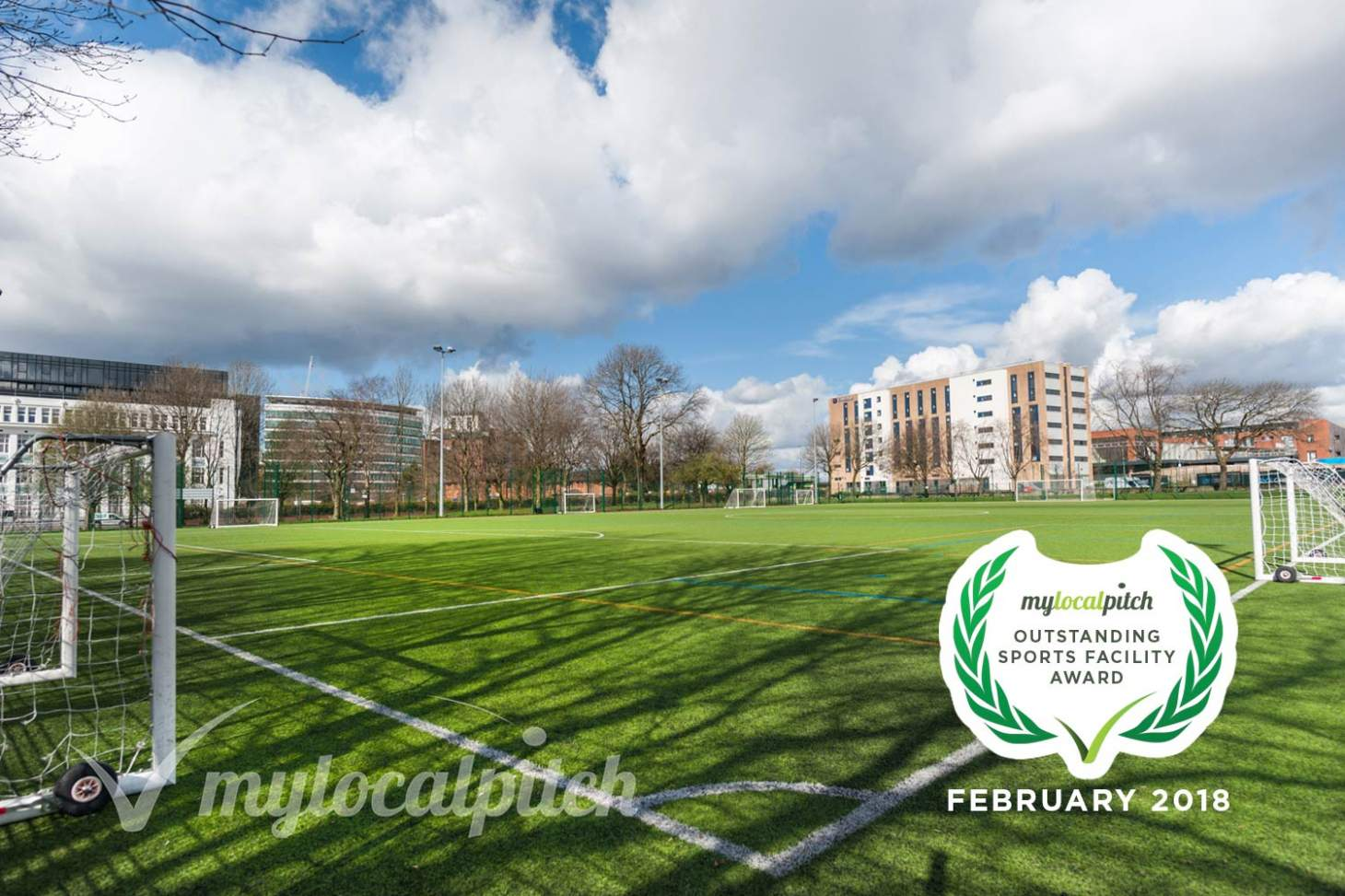 Ordsall Leisure Centre 7 a side | 3G Astroturf football pitch
