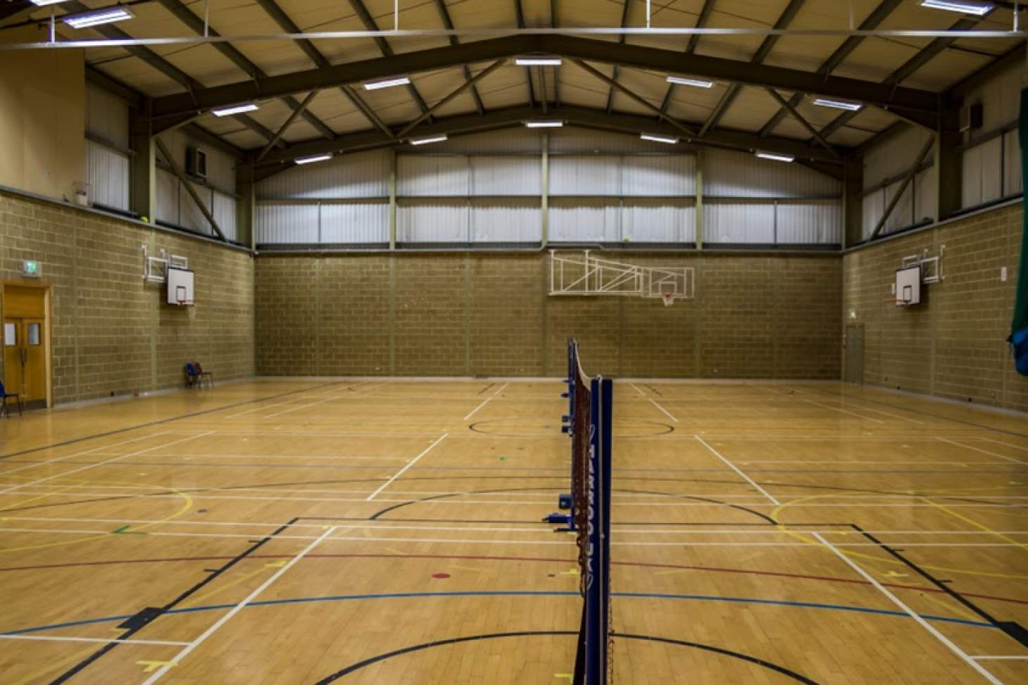 Portslade Sports Centre Indoor | Hard badminton court