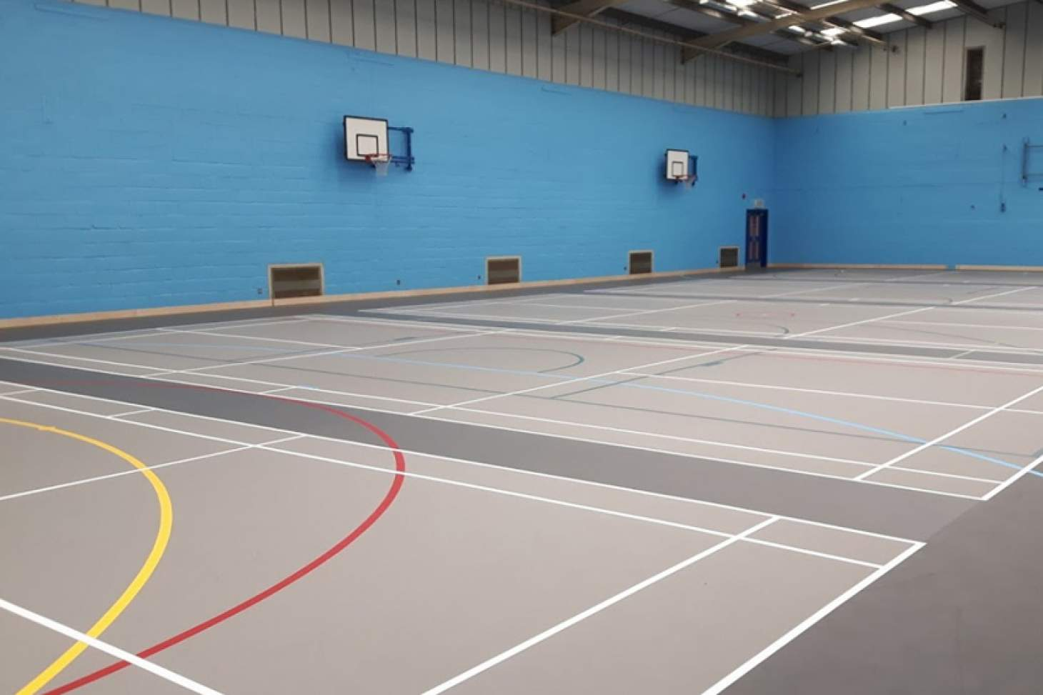 Portslade Sports Centre Sports hall space hire