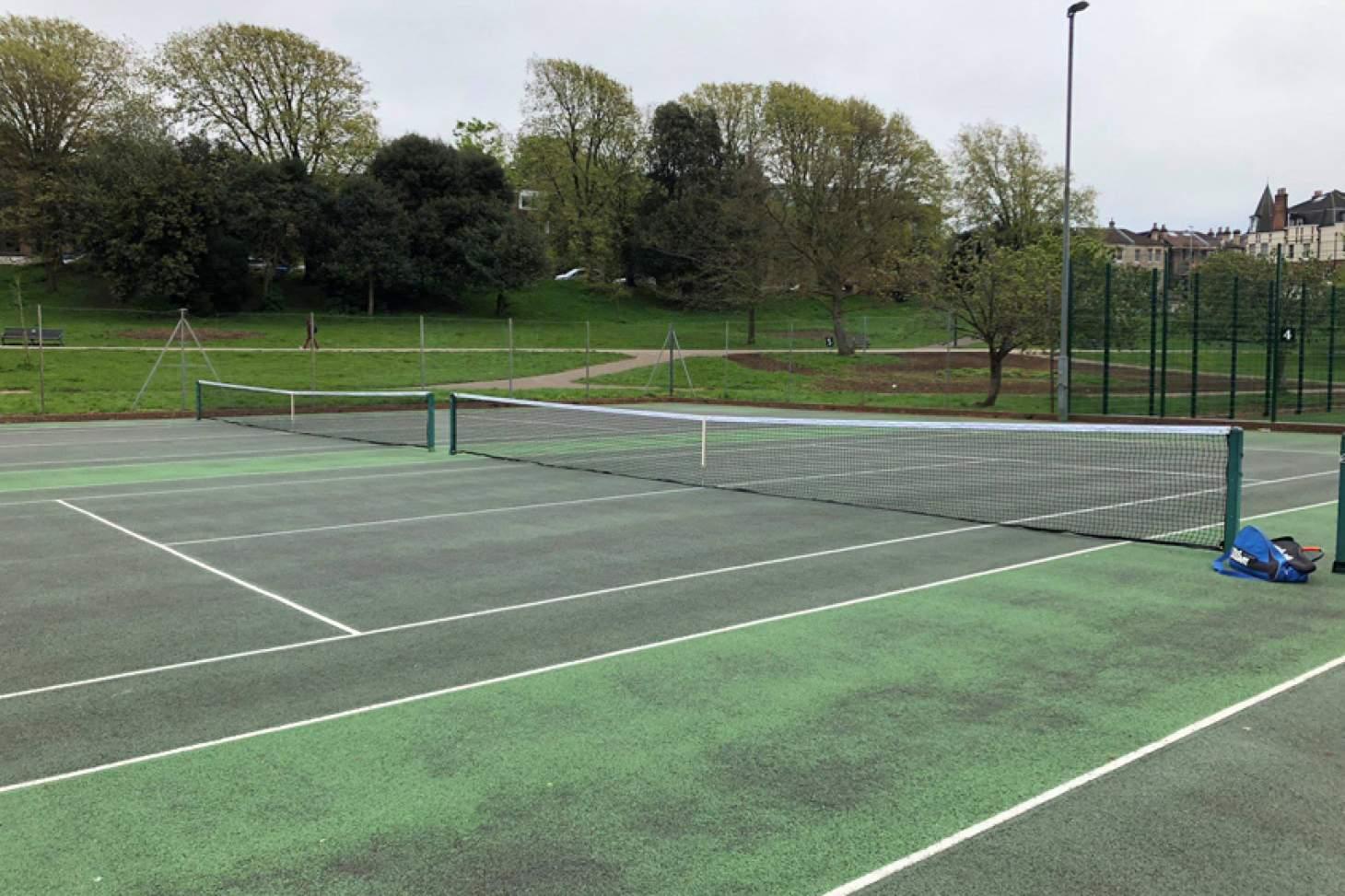 Queens Park Tennis Cub Outdoor   Hard (macadam) tennis court