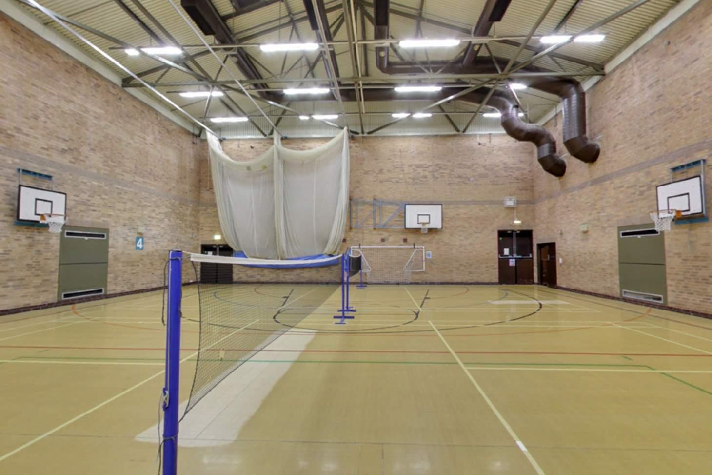 Stanley Deason Leisure Centre Indoor basketball court