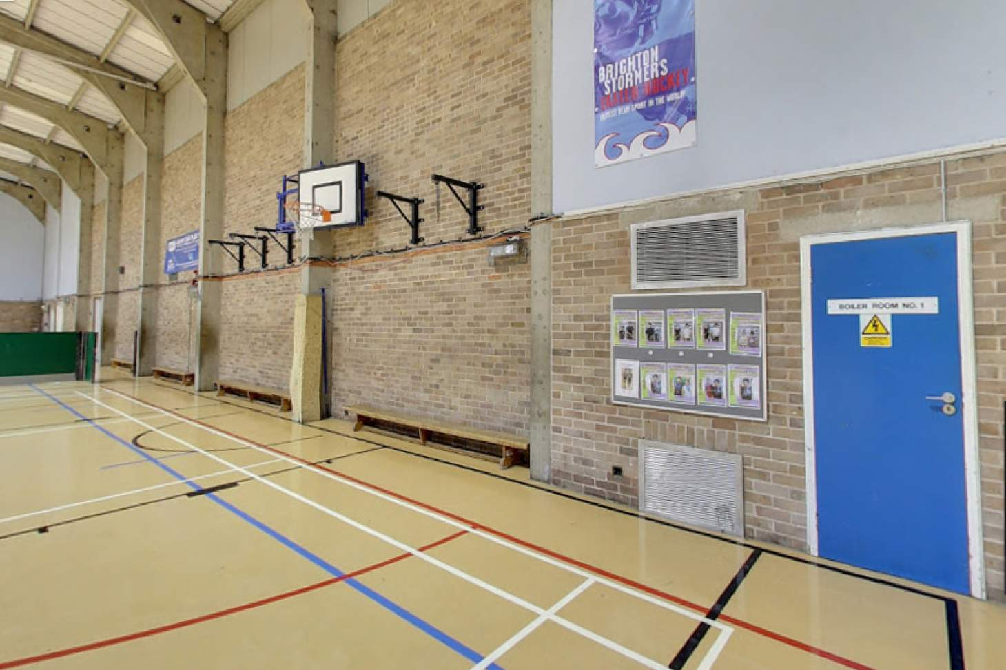 Impulse Leisure (Southwick) Indoor netball court