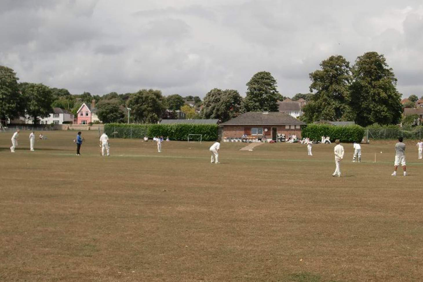 Lancing Manor Park Full size | Grass cricket facilities