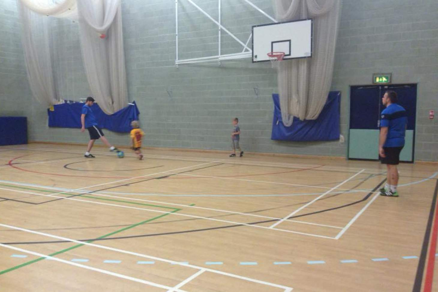 Longhill Sports Centre 5 a side   Indoor football pitch