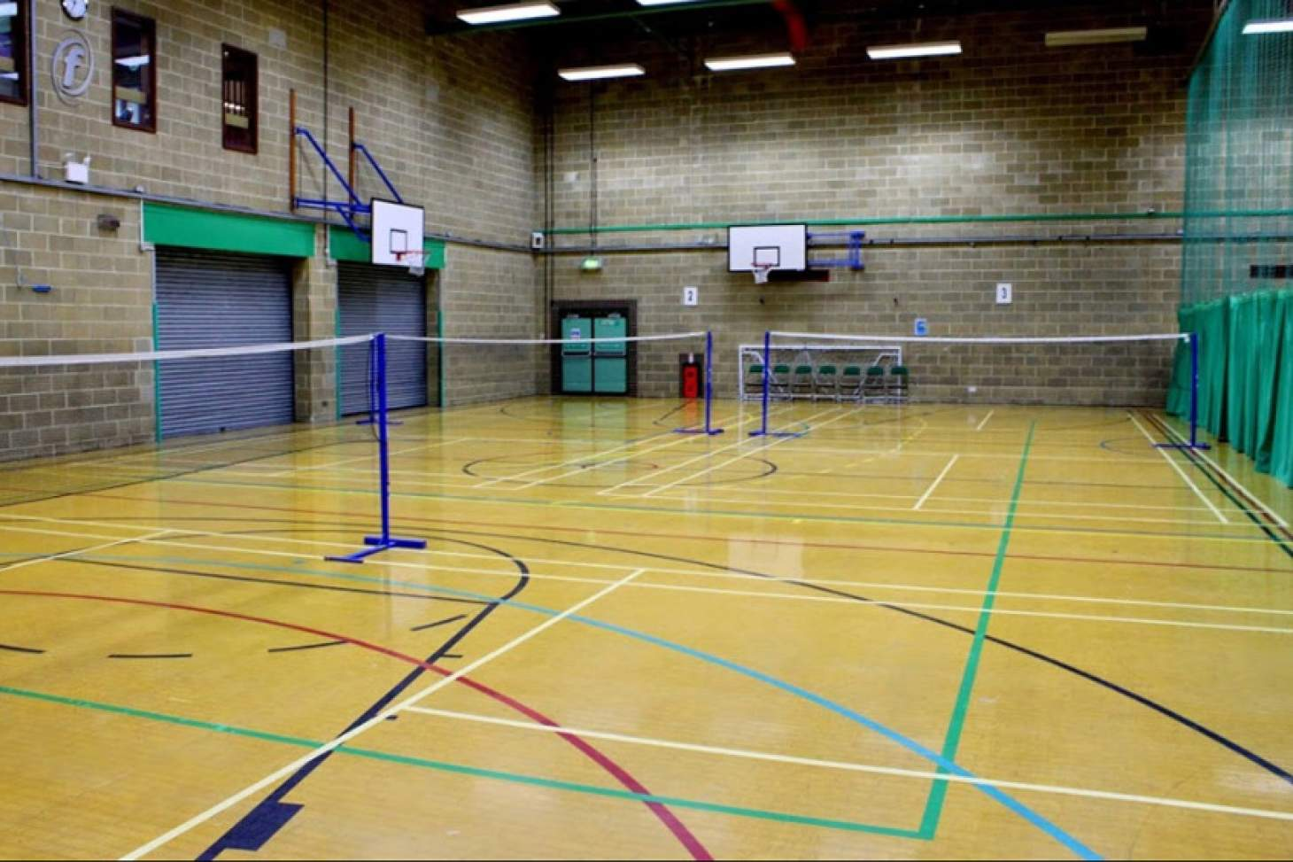 Moulsecoomb Community Leisure Centre Indoor basketball court