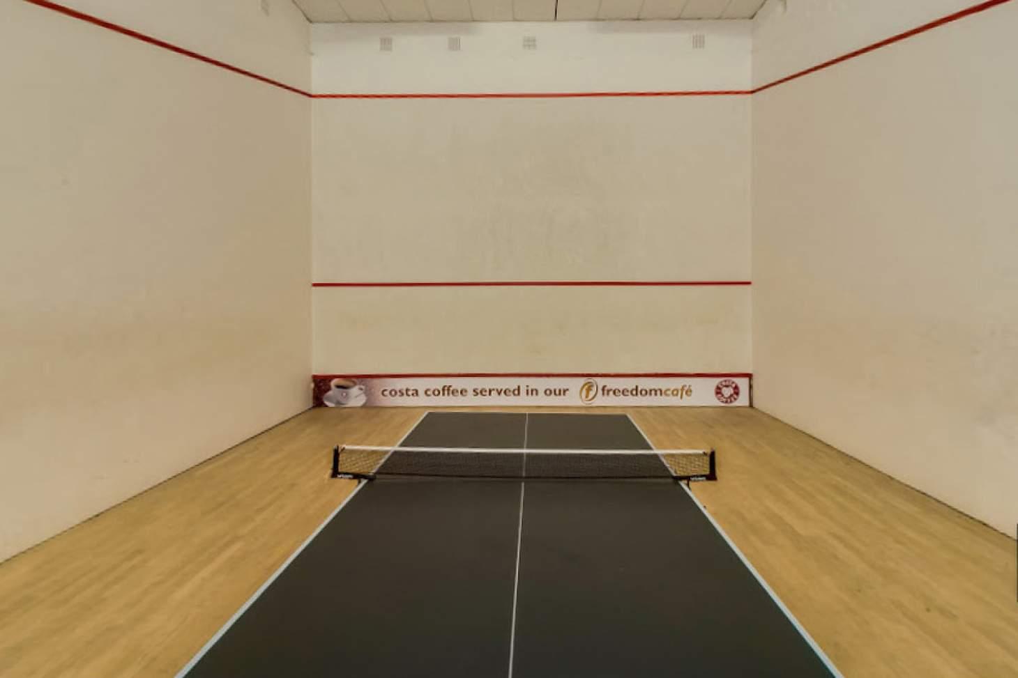 Portslade Sports Centre Indoor | Hard squash court