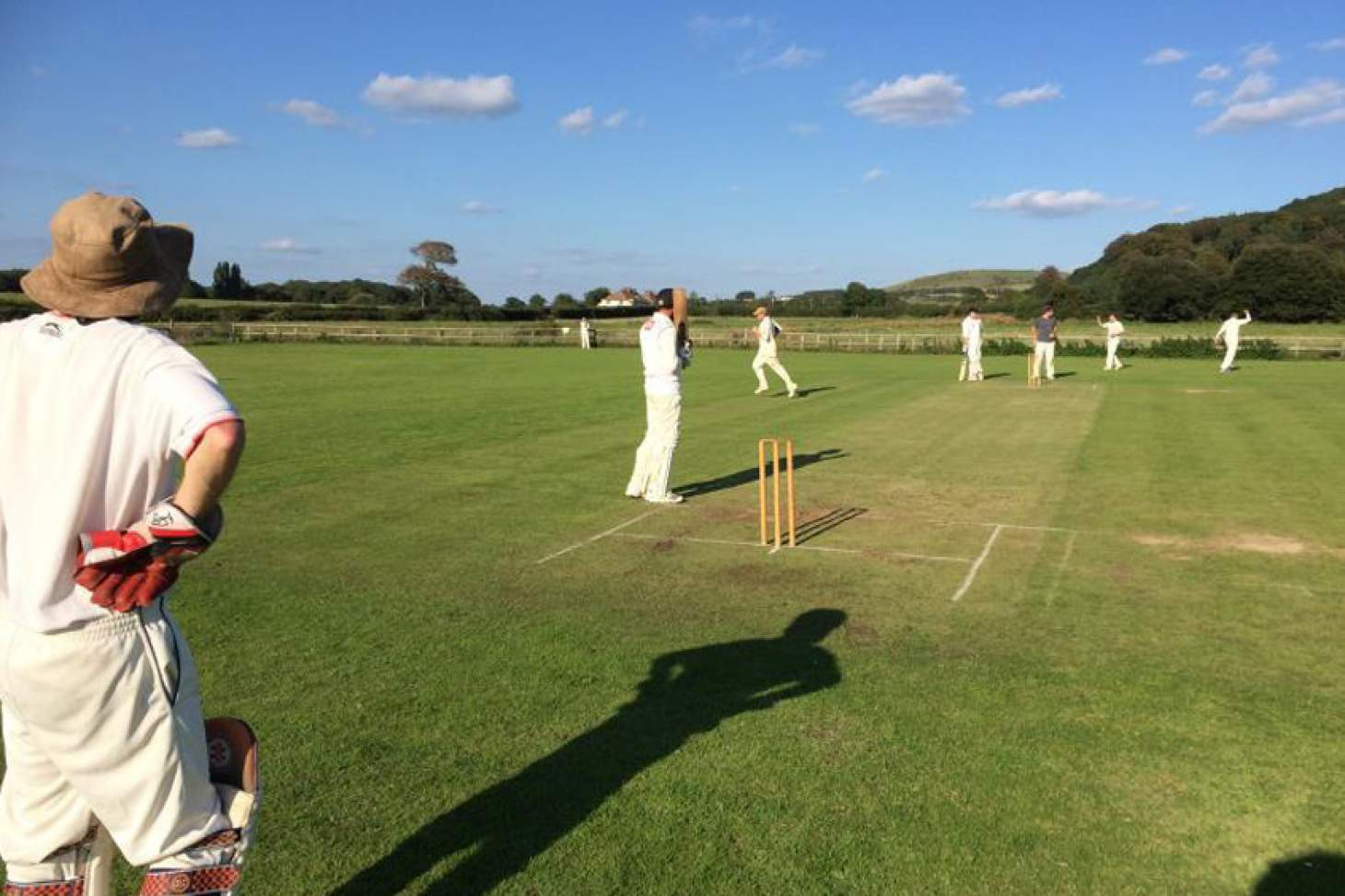 Poynings Cricket Club Full size | Grass cricket facilities
