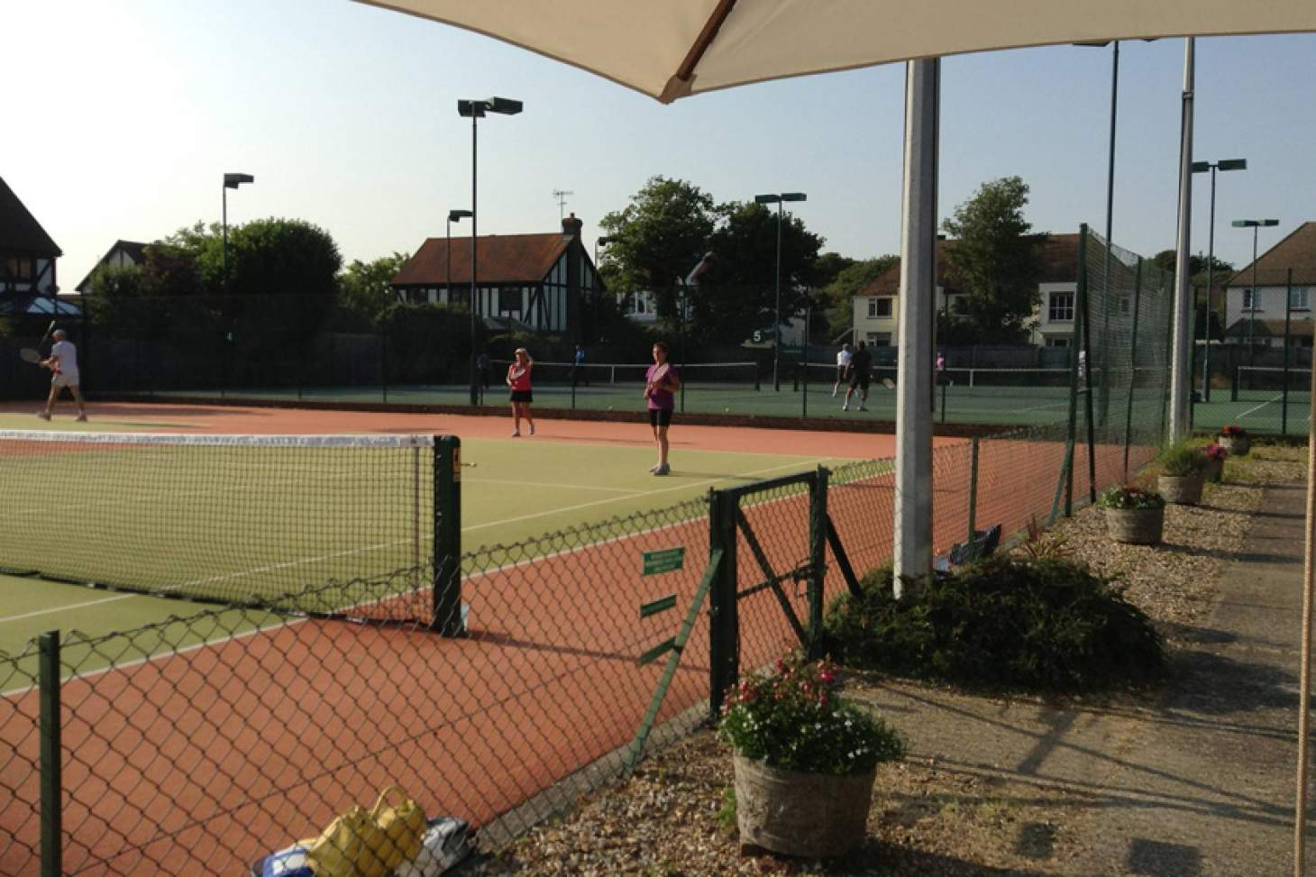 Sussex County Lawn Tennis Club Outdoor | Astroturf tennis court