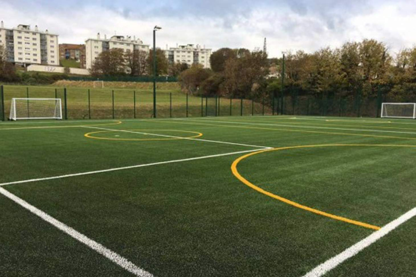 The Manor Road Gym 7 a side | 3G Astroturf football pitch