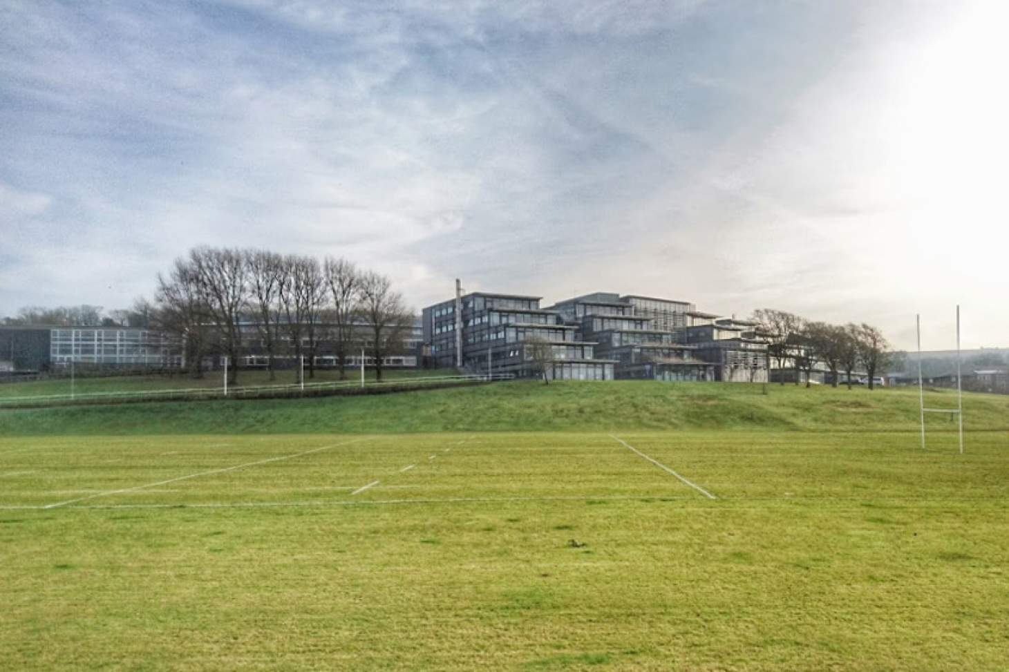 University Of Brighton (Falmer Campus) Union | Grass rugby pitch