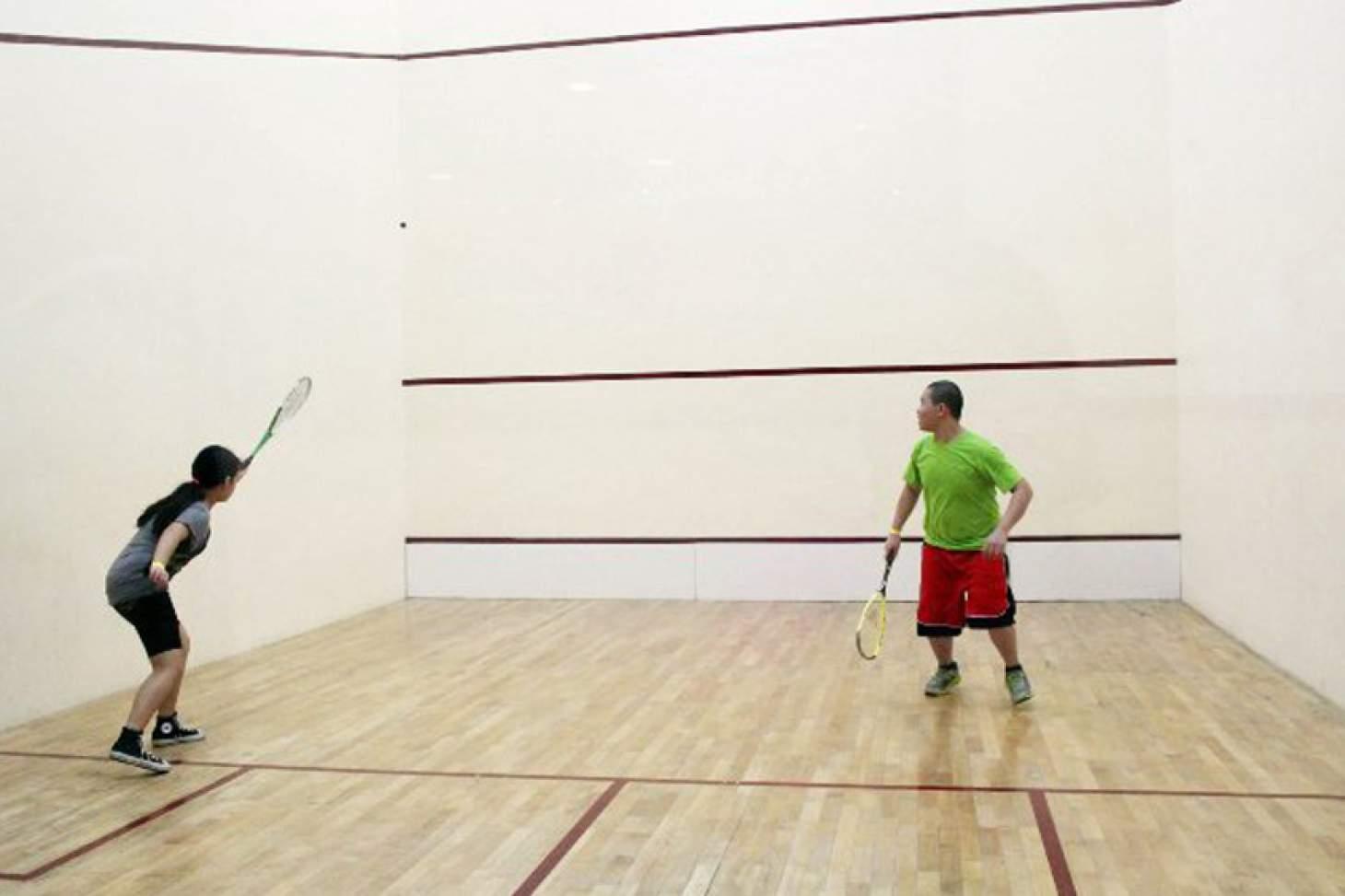 University Of Sussex Sport Centre Indoor | Hard squash court