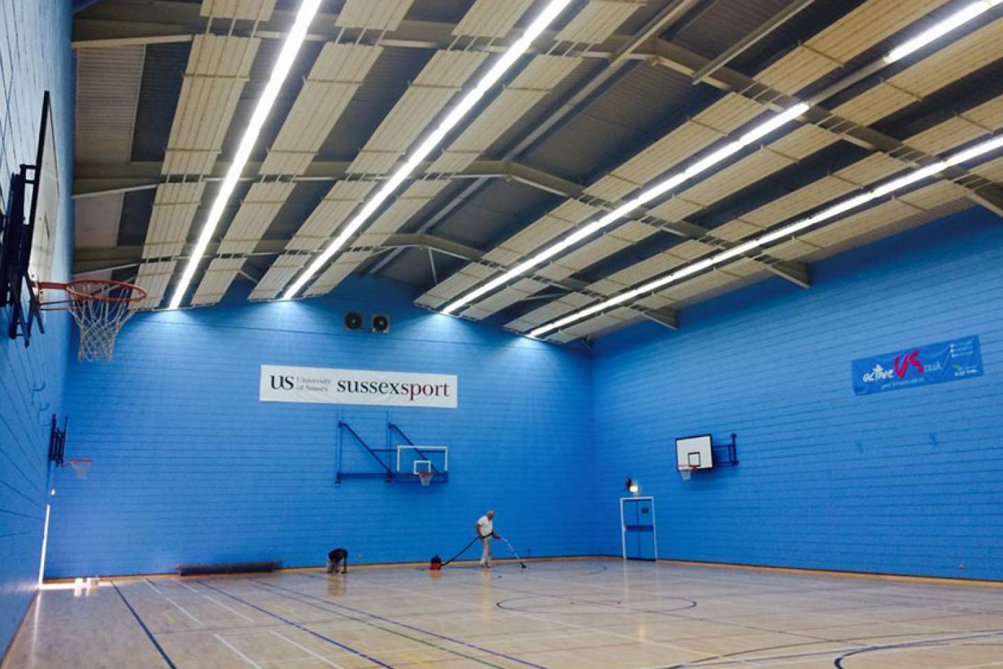University Of Sussex Sport Centre Nets | Sports hall cricket facilities