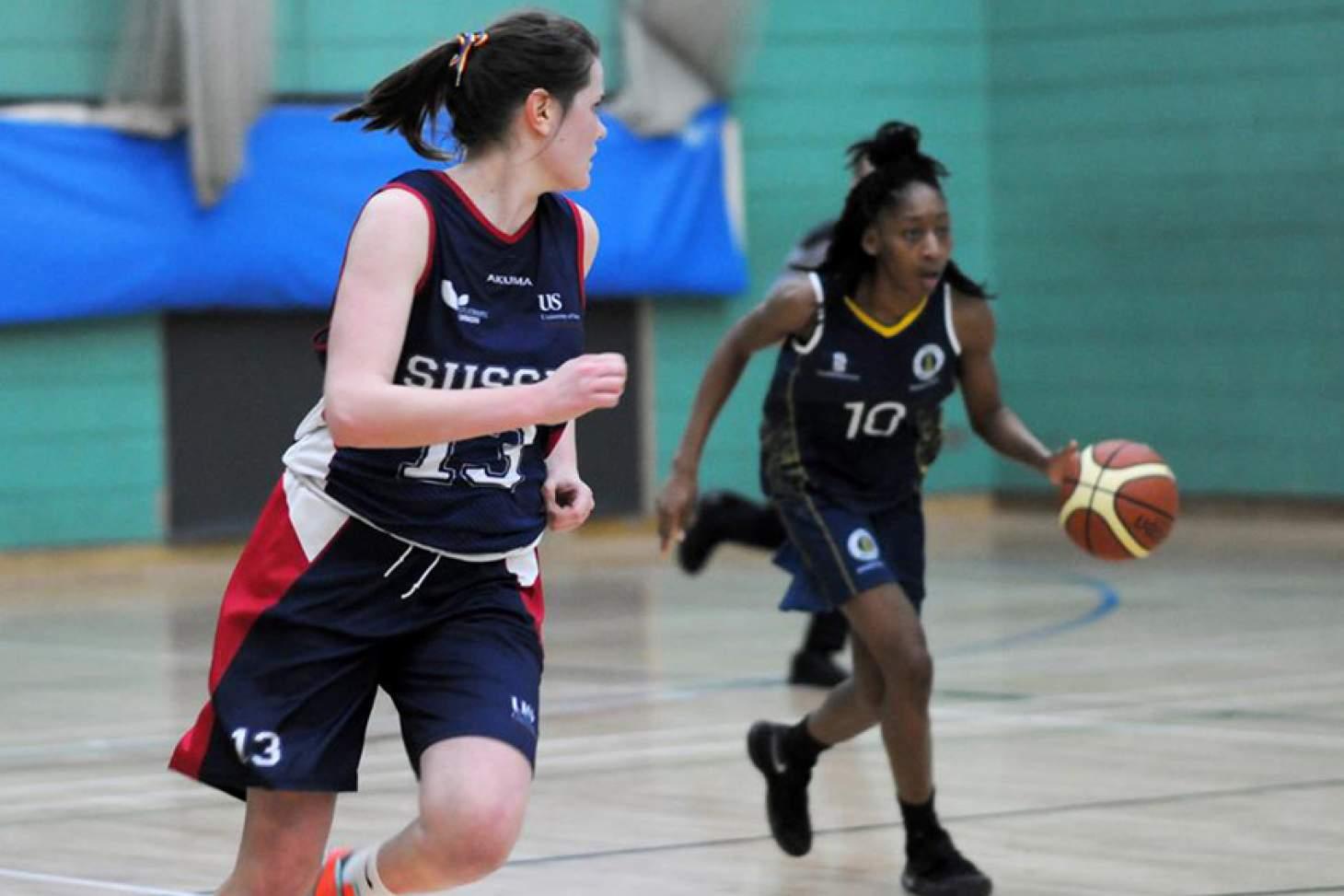 University Of Sussex Sport Centre Indoor basketball court