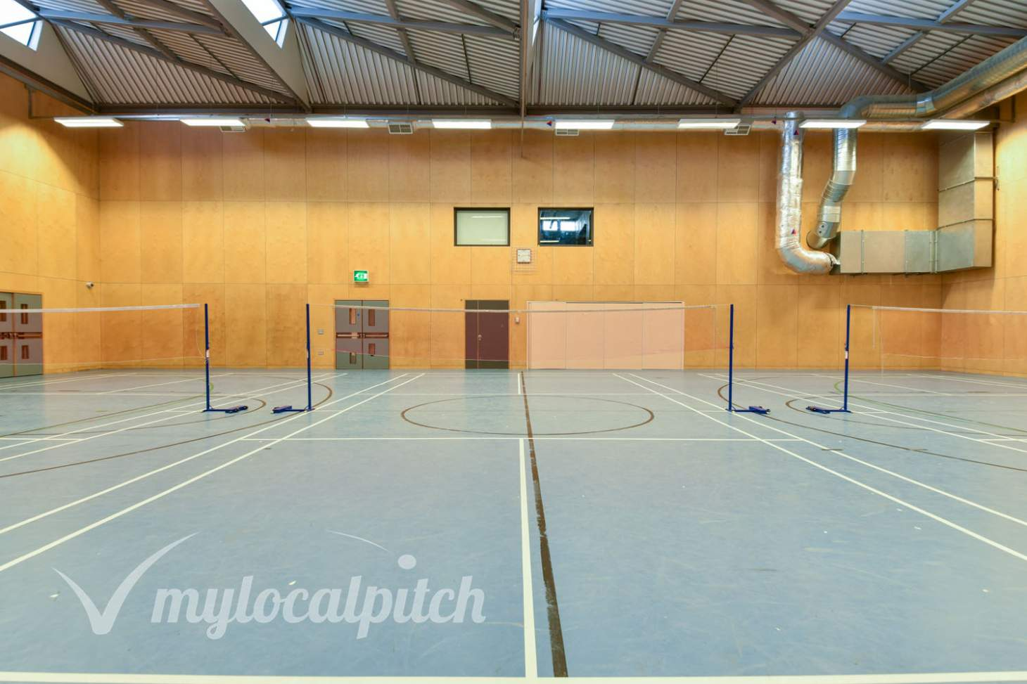Cedars Youth & Community Centre Indoor badminton court