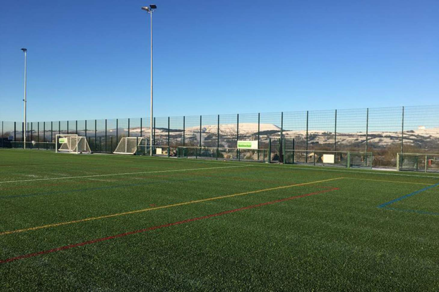 Saints John Fisher and Thomas More RCHS 11 a side | 3G Astroturf football pitch