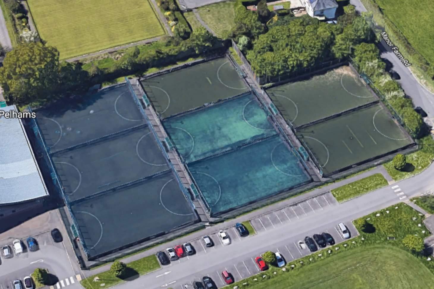 PlayFootball Bournemouth Pelhams 5 a side   3G Astroturf football pitch