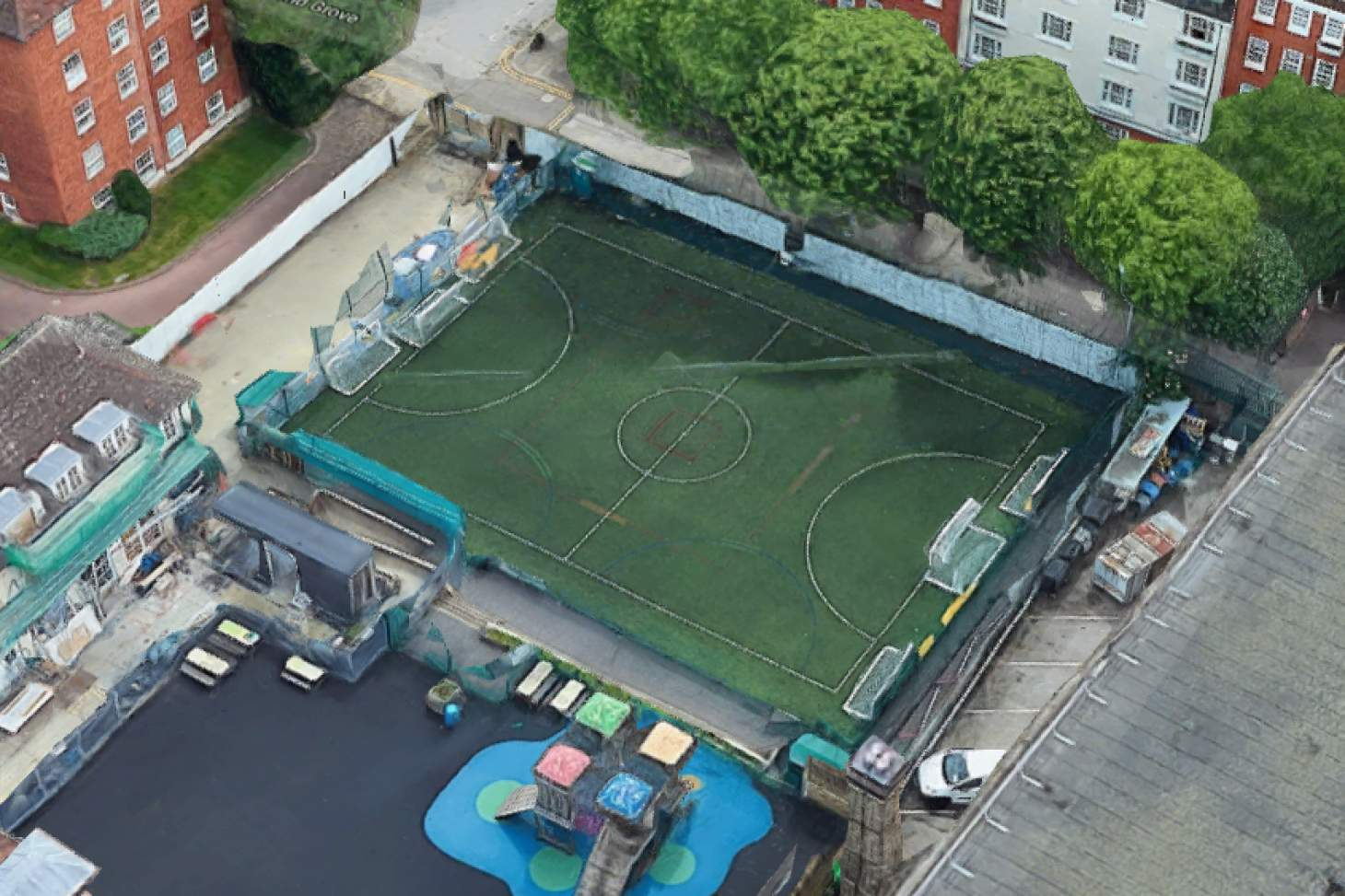 PlayFootball Islington William Tyndale 5 a side | 3G Astroturf football pitch
