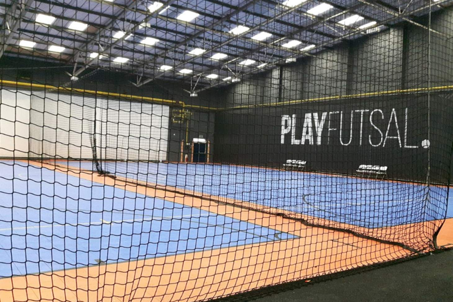 PlayFootball Swindon Indoor futsal pitch