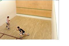 West Wood Health Club | Hard Squash Court