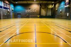 Harris City Academy Crystal Palace | Hard Badminton Court
