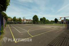 Burnt Oak Leisure Centre | Hard (macadam) Netball Court
