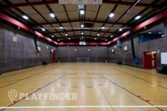Chiswick School | Indoor Netball Court