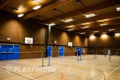 Harpenden Sports Centre | Hard Badminton Court