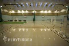 Crook Log Leisure Centre | Hard Badminton Court