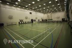 Langley Academy | Hard Badminton Court