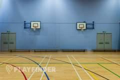 Oasis Academy MediaCityUK | Indoor Netball Court