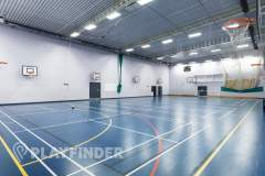 Buile Hill School | Indoor Basketball Court
