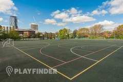 Oasis Academy MediaCityUK | Concrete Football Pitch