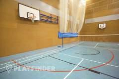 Globe Academy | Hard Badminton Court