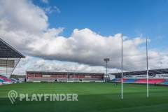 AJ Bell Stadium | Grass Football Pitch