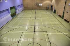 Waterfront Leisure Centre | Sports hall Basketball Court
