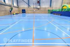 Aldenham School Sports Centre | Hard Badminton Court