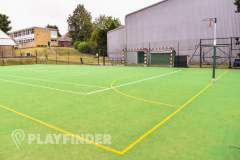 Aldenham School Sports Centre | Astroturf Netball Court