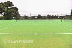 Aldenham School Sports Centre | Astroturf Tennis Court