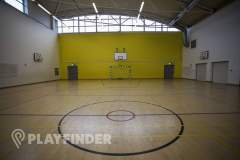 Barnhill Community School | Sports hall Volleyball Court