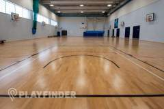 Harris Academy St Johns Wood | Sports hall Volleyball Court