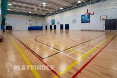 Harris Academy St Johns Wood | Sports hall Basketball Court