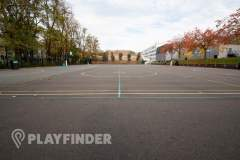 Harris Academy St Johns Wood | Concrete Basketball Court