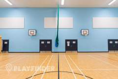 Manchester Enterprise Academy Central | Sports hall Netball Court