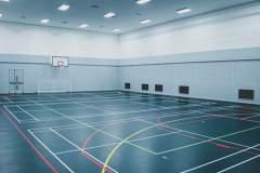 Global Academy, Hayes | Sports hall Badminton Court