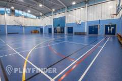 Ark Burlington Danes Academy | Sports hall Volleyball Court